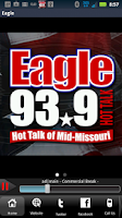 Screenshot of THE EAGLE - 93.9FM