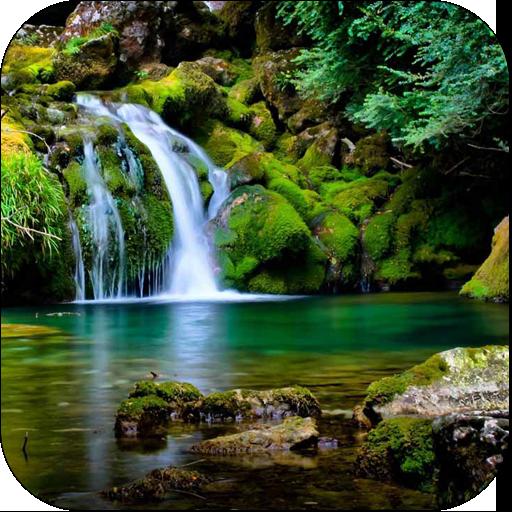 3D Waterfall LOGO-APP點子