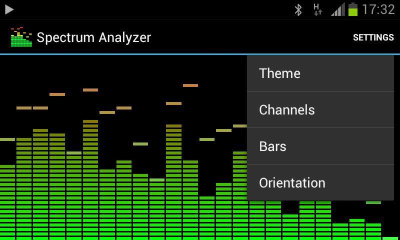 audio spectrum analyzer software