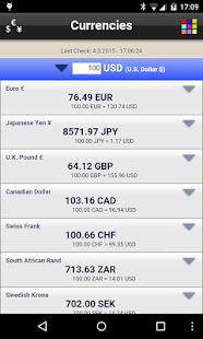 Currencies Free- screenshot thumbnail