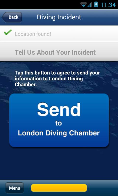 London Diving Chamber- screenshot