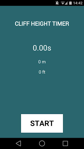Cliff Height Timer