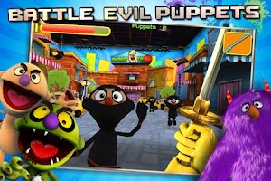 Screenshot of Puppet War:FPS ep.1