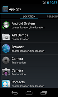 Permissions Manager Launcher - screenshot thumbnail