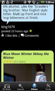 Beer + List, Ratings & Reviews - screenshot thumbnail