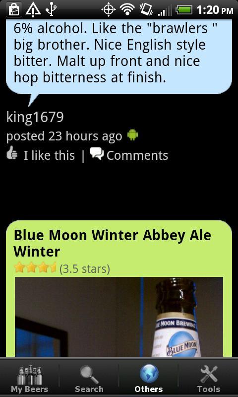 Beer + List, Ratings & Reviews - screenshot
