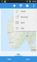 Screenshot of Kontroll og fotobokser i Norge