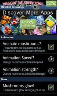 Magic Mushrooms LWP HD- screenshot thumbnail