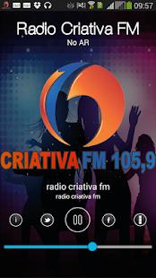 Radio Criativa FM Screenshot 1