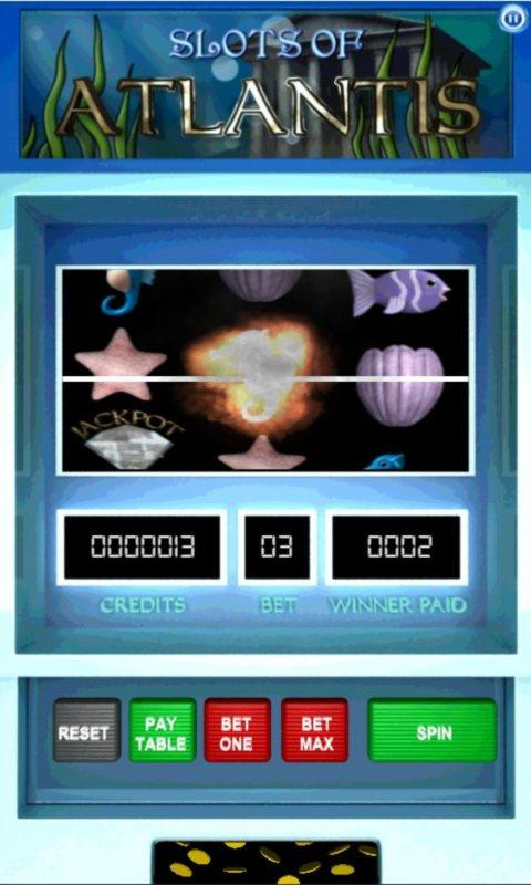 Slots of Atlantis Lite - screenshot