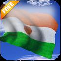 3D Niger Flag icon