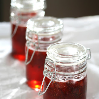Strawberry and Lemon Thyme Preserves