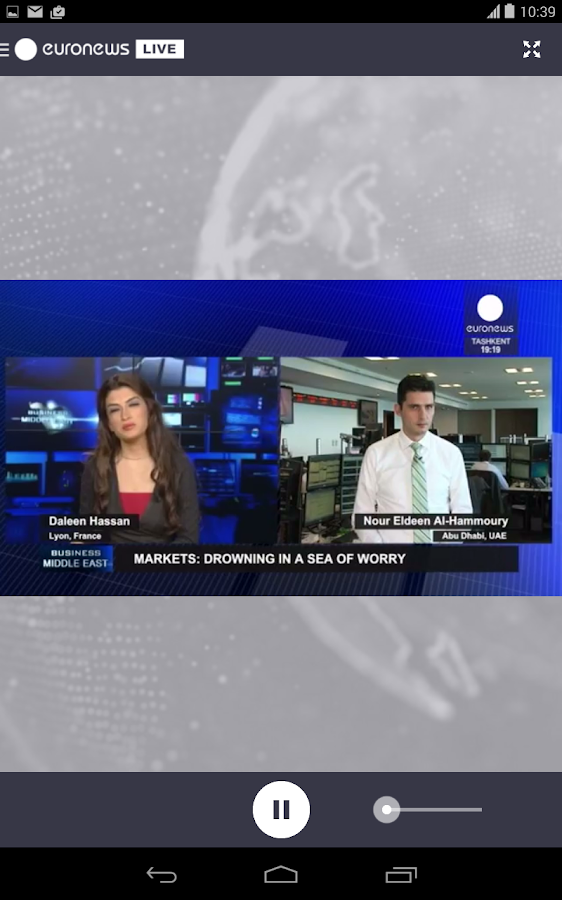 euronews LIVE - screenshot