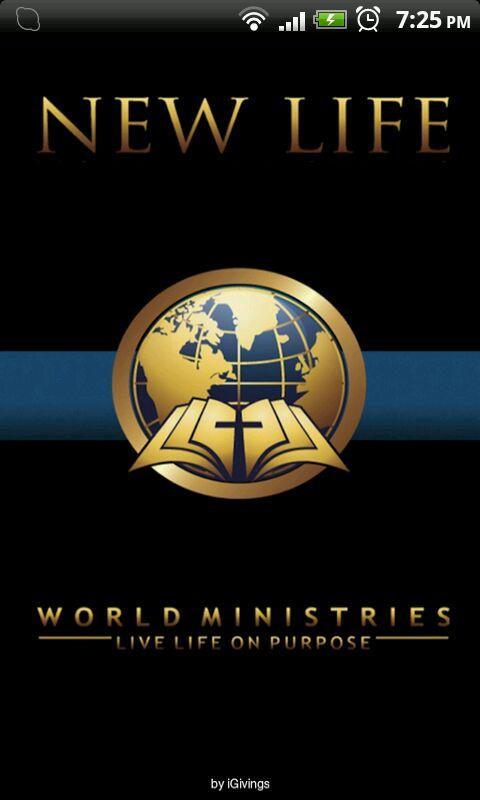 New Life World Ministries - screenshot