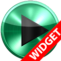 Poweramp widget MINT METAL icon