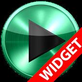 Poweramp widget MINT METAL