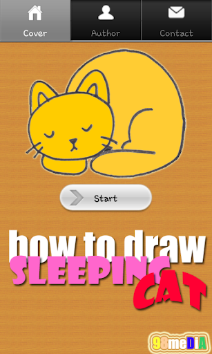 How to Draw Sleeping Cat
