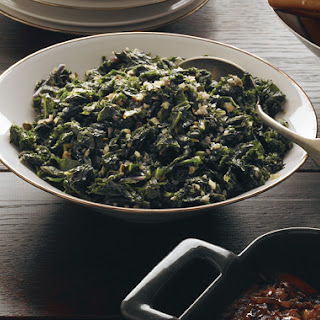 Sautéed Kale with Garlic, Shallots, and Capers.