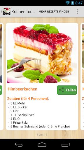 Kuchen backen Rezepte