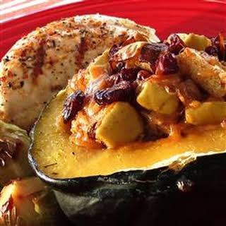 Apple-Stuffed Acorn Squash.