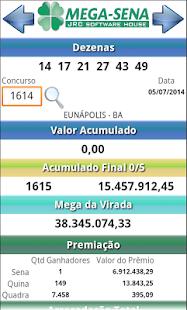JRC Mega Sena - náhled
