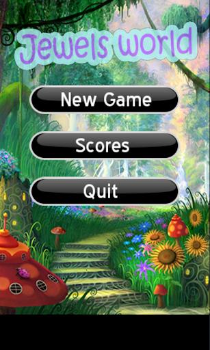 【免費休閒App】Jewels World-APP點子