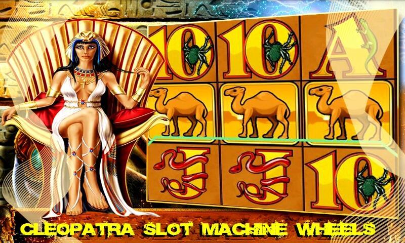 cleopatra online slot book wheel