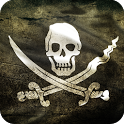 Pirate Flag Live Wallpaper icon
