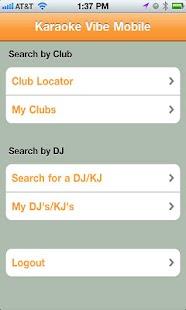 Karaoke Vibe- screenshot thumbnail