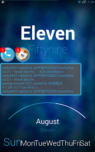 FlatBlue FN Theme