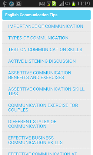 Increase English Communication