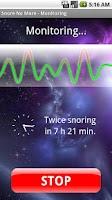 Screenshot of Snore No More