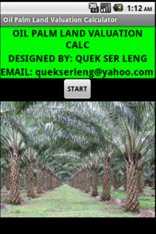 Oil Palm Land Valuation