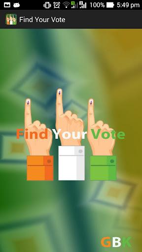 Find Your Vote