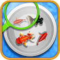 goldfish scooping stall icon