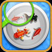 goldfish scooping stall
