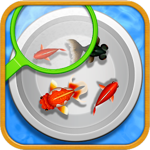 goldfish scooping stall for PC and MAC