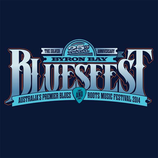 Byron Bay Bluesfest LOGO-APP點子