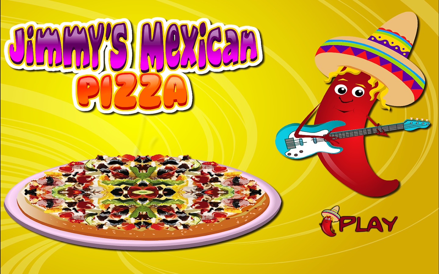 Cooking Mexican Pizza- screenshot