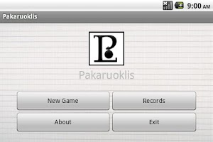 Screenshot of Hangman (Pakaruoklis)
