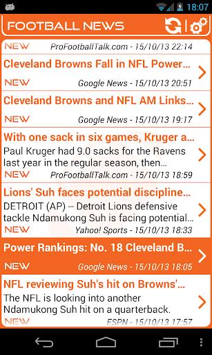 Cleveland Football News