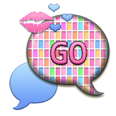 GO SMS THEME/PastelKisses6