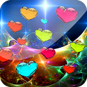 3D Love Hearts Live Wallpaper icon