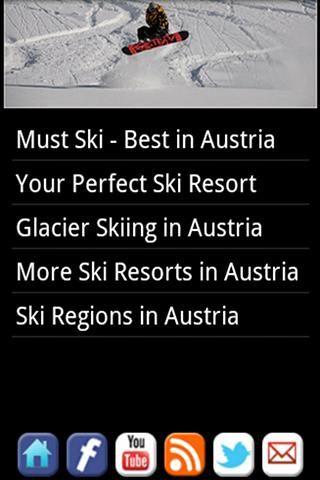 Skiing Austria- screenshot