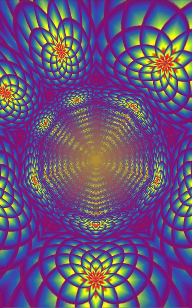 Morphing Tunnels Music Visualizer Screenshot 3