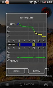 Battery Solo Widget Pro- screenshot thumbnail