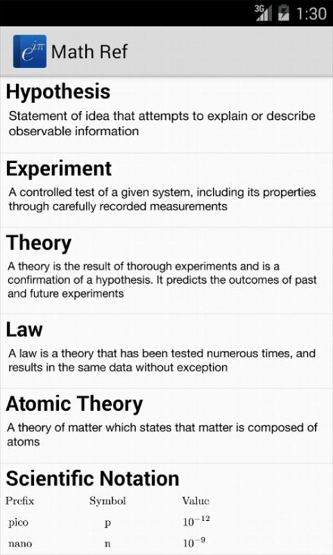 Math Ref screenshot #15