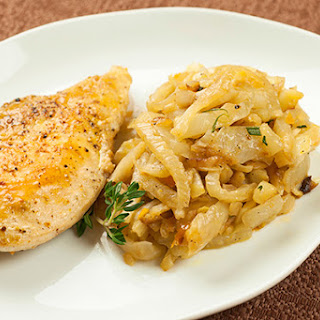 Chicken and Caramelized Fennel with Orange Rosemary Recipe