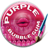 Purple Bubblegum Keyboard