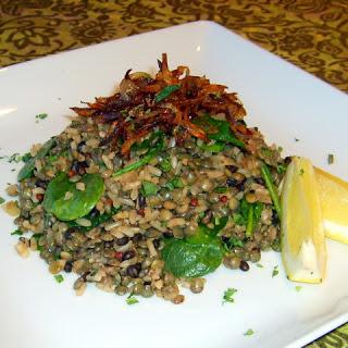 Mujaddara (Lentil & Rice Pilaf)